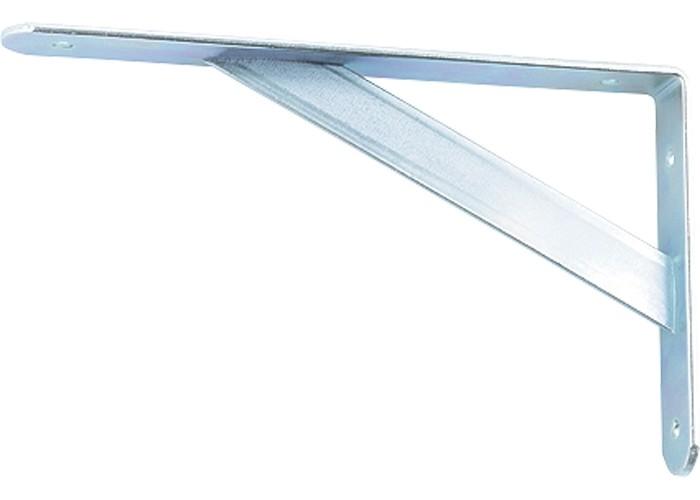 Кронштейн усиленный, 300 х 200 х 30 х 4 мм, оцинкованный Сибртех