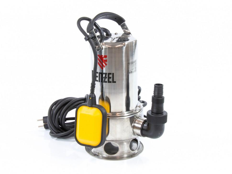 Дренажный насос DP1100X, 1100 Вт, подъем 11 м, 15500 л/ч Denzel