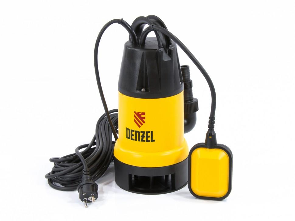 Дренажный насос DP 600, 600 Вт, подъем 7 м, 10000 л/ч Denzel