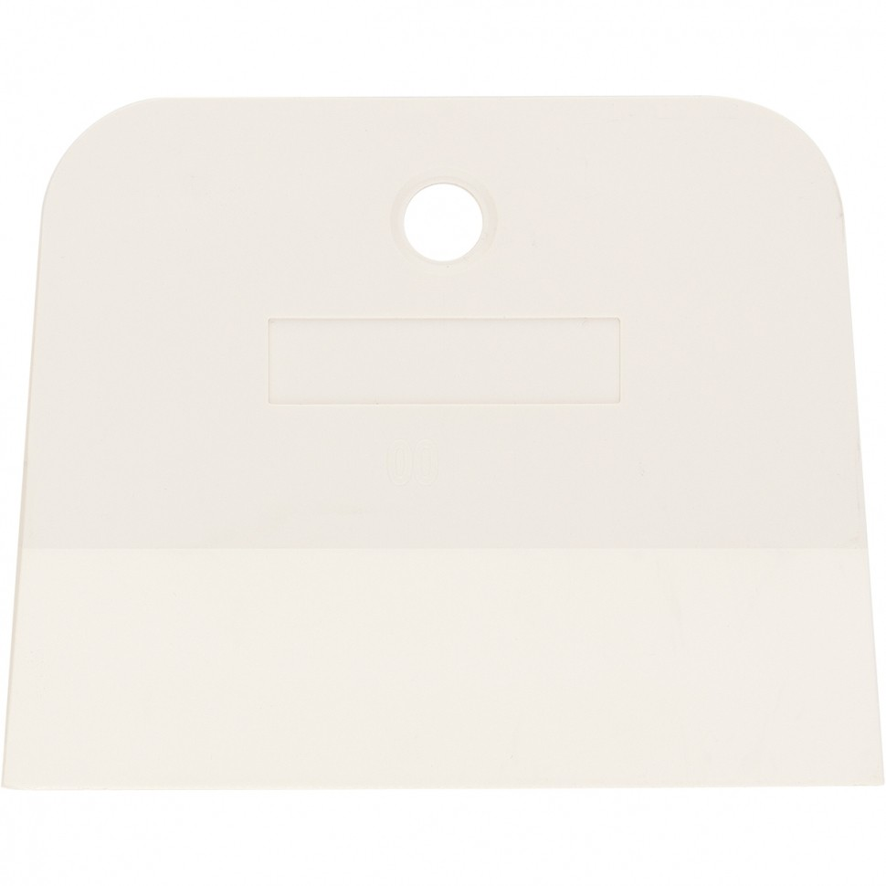 Шпатель, белая резина, 100 мм, Россия. СИБРТЕХ