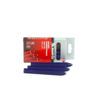 """Мелки разметочные восковые синие, 120 мм, коробка 6 шт Matrix оптом: купить на официальном сайте ООО """"МИР ИНСТРУМЕНТА"""""""
