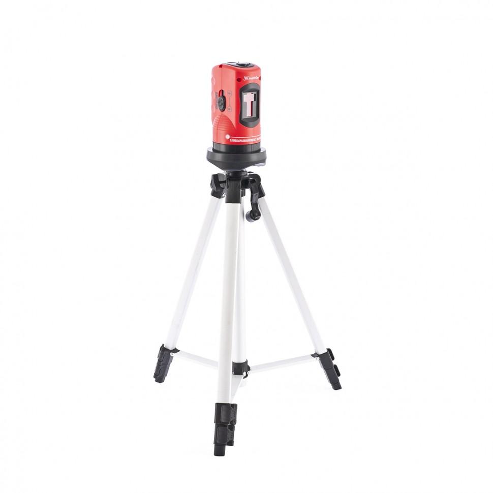 Уровень лазерный, 100 мм, штатив 1260 мм, самовыравнивающийся. MATRIX