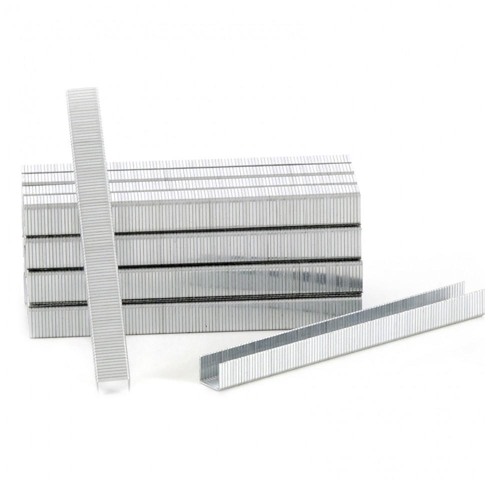 Скобы для пневматического степлера, 10 мм, ширина 1,2 мм, толщина 0,6 мм, ширина скобы 11,2 мм, 5000 шт. MATRIX