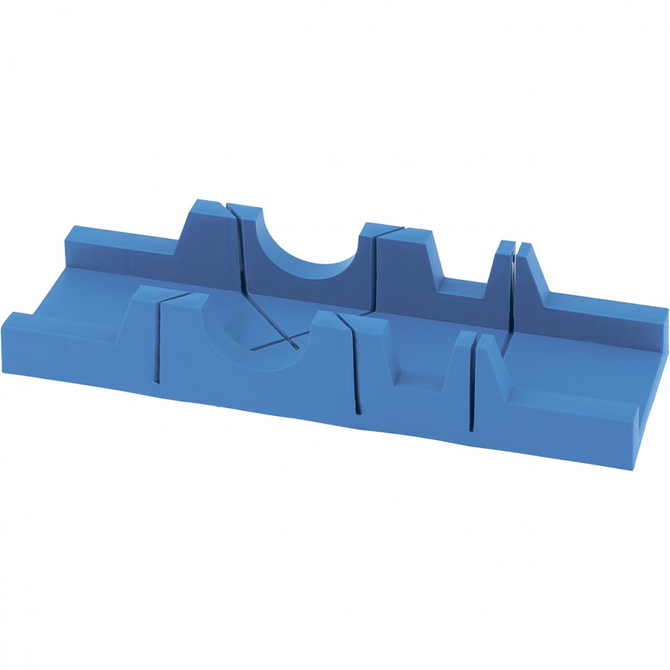 Стусло пластиковое, 295 х 65 мм, 3 угла для запила. СИБРТЕХ