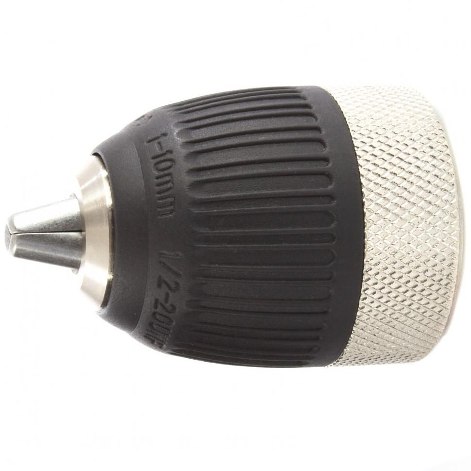 Патрон для дрели быстрозажимной c autolock 1-10 мм, 1/2. MATRIX