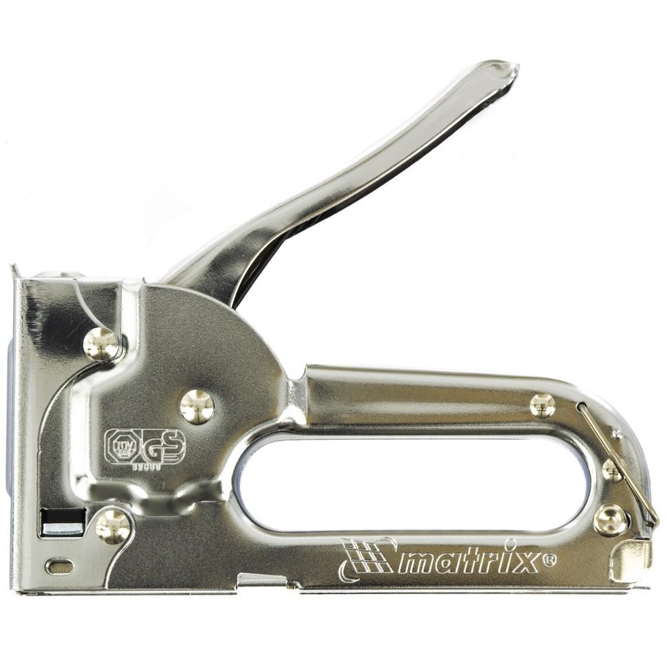 Степлер мебельный, тип скобы: 53, 4-8 мм Matrix Master