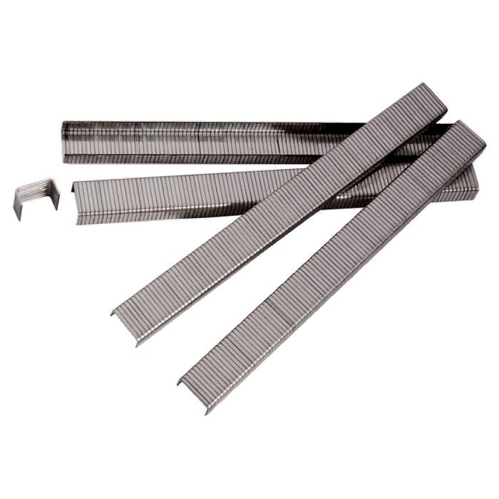 Скобы для пневматического степлера, 8 мм, ширина 1,2 мм, толщина 0,6 мм, ширина скобы 11,2 мм, 5000 шт. MATRIX