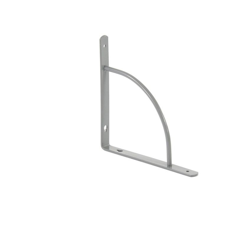 Кронштейн арочный, выгнутый, 200 х 200 х 20 мм, серый Сибртех