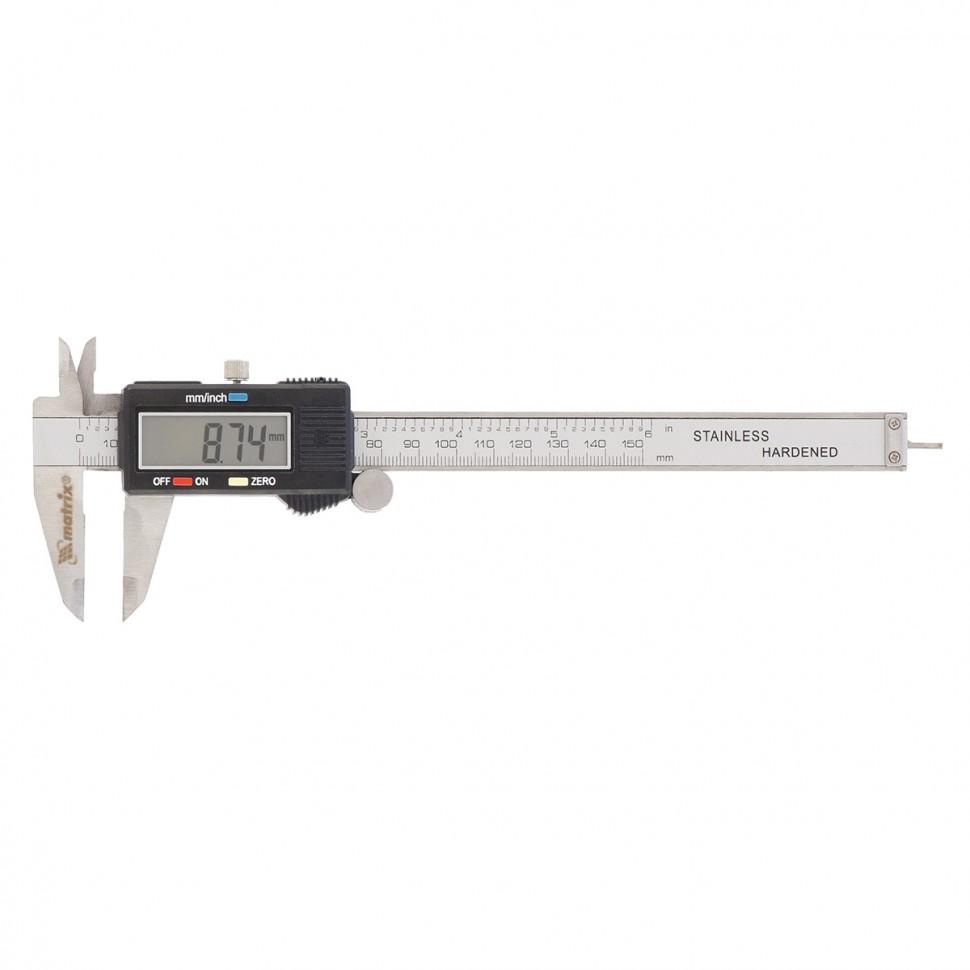 Штангенциркуль, 150 мм, электронный. MATRIX