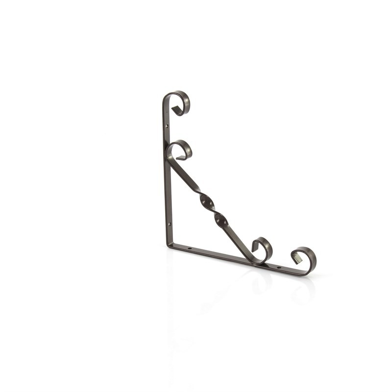 Кронштейн декоративный, 200 х 200 мм, коричневый Сибртех