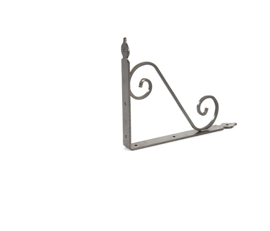 Кронштейн декоративный, 240 х 290 х 30 х 3.5 мм, темно-серый Сибртех