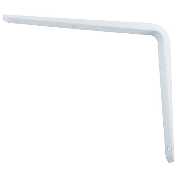 Кронштейн стальной, 150 х 200 мм, белый Сибртех