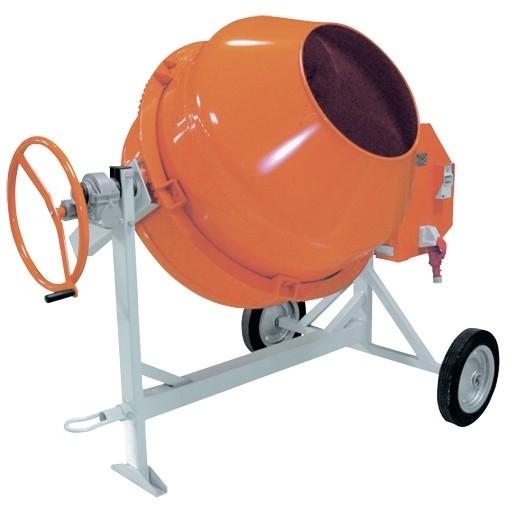 Бетоносмеситель СБР-440А.1, 440 л, 1,5 кВт, 380 В, редуктор.