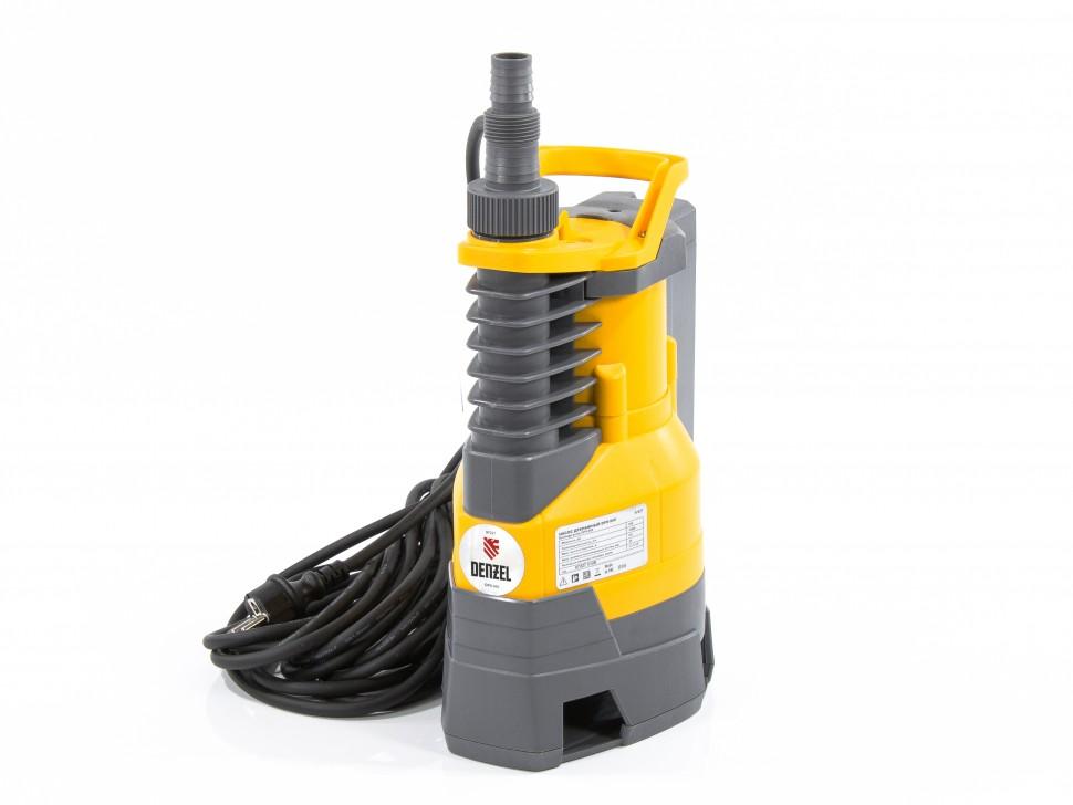 Дренажный насос DPХ950, Х-Pro, 950 Вт, подъем 8,5 м, 15500 л/ч Denzel