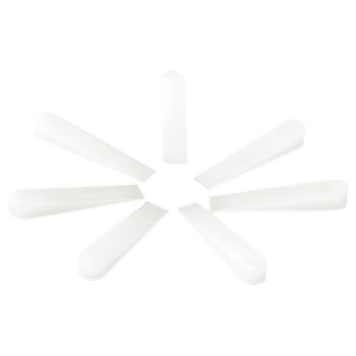 Клинья, 30 х 6 х 5 мм, для кладки плитки, 200 шт, SPARTA