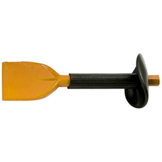 Зубило, 210 х 65 мм, с протектором. SPARTA