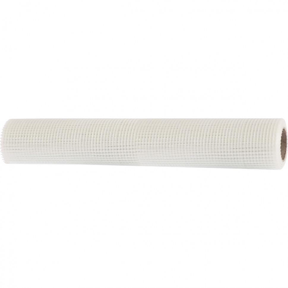 Сетка стеклотканевая штатурная, размер ячеек 5 х 5 мм, 1000 мм х 10 м. MATRIX