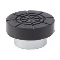 езиновая опора для бутылочных домкратов, диаметр штока 32 мм. MATRIX РОССИЯ