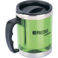 Термокружка с крышкой-поилкой в пластиковом корпусе, 300 мл PALISAD Camping