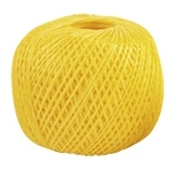 Шпагат полипропиленовый желтый, 60 м, 1200 текс СИБРТЕХ Россия