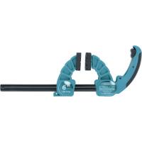 Струбцина реечная быстрозажимная,пластиковый корпус,рычажный храповый механизм,18