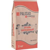 Уголь берёзовый, 3 кг PALISAD Camping Россия