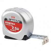 Рулетка Magnetic, 7,5 м х 25 мм, магнитный зацеп MATRIX