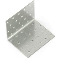 Крепежный уголок равносторонний 2,0 мм, KUR 80x80x100 мм// СИБРТЕХ//Россия