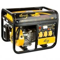 Генератор бензиновый DB2500, 2,2 кВт, 220В/50Гц, 15 л, ручной пуск DENZEL