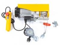Тельфер электрический TF500, 0,25/0,5 т, 1020 Вт, высота 6/12 м, 10 м/с DENZEL