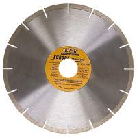 Диск алмазный отрезной сегментный, 180 х 22,2 мм., сухая резка, EUROPA Standard SPARTA