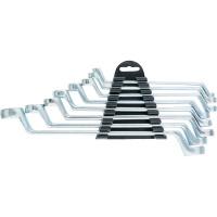 Набор ключей накидных, 6–22 мм, 8 шт., хромированные SPARTA