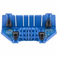 Стусло пластиковое 350*100*80мм,5 углов для запила, приж.фиксаторы с угл.накл-ми БАРC