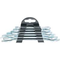 Набор ключей рожковых, 6 х 17 мм, 6 шт., хромированные SPARTA