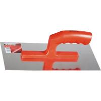 Гладилка из нерж. стали, 280 х 130 мм, зеркальная полировка, пластмассовая ручка MATRIX