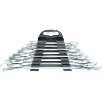 Набор ключей рожковых, 6 х 22 мм, 8 шт., хромированные SPARTA