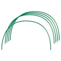 Парниковые Дуги в ПВХ 1,2 х 1 метр 6 штук, диаметр трубы 10 мм. Россия