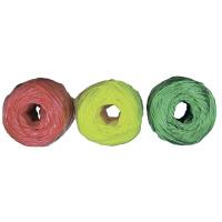 Набор шпагатов полипропиленовых, 6 шт. х 60 м, разные цвета, 1200 текс, 50 кгс Россия Сибртех