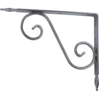 Кронштейн декоративный, 145х110х25х3 мм, темно-серый СИБРТЕХ