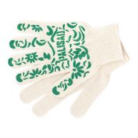 Перчатки садовые х/б, ПВХ узор