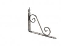 Кронштейн декоративный, 190х240х25х3.5 мм, темно-серый//СИБРТЕХ
