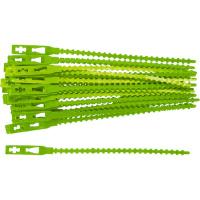 Подвязки для садовых растений, 13 см, пластиковые, 50 шт PALISAD