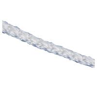 Шнур вязаный полипр. с серд. белый, 4 мм., L20 м, 60-70 кгс Россия Сибртех