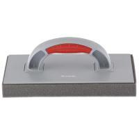 Терка пластмассовая, губчатое покрытие 30 мм, 270 x 130 мм, двухкомпонентная ручка MATRIX
