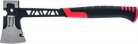 Топор цельнокованый, 600 г, двухкомпонентная обрезиненная рукоятка // MATRIX PRO